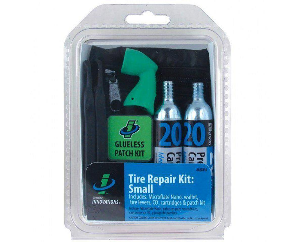 Tire Repair and Inflation Wallet Kit: Includes two 20g Co2 C