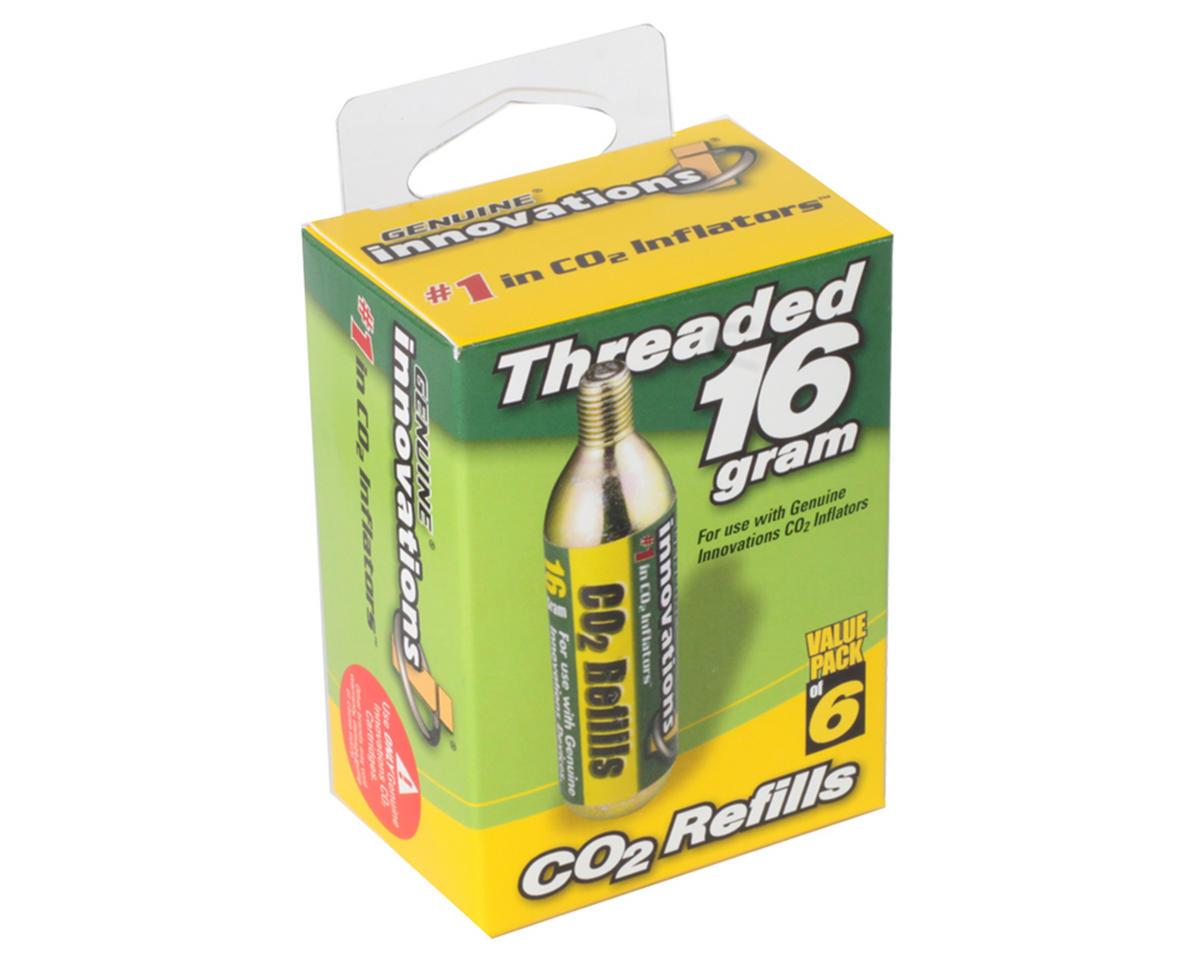 Genuine Innovations 16g Threaded Co2 Cartridge (6)