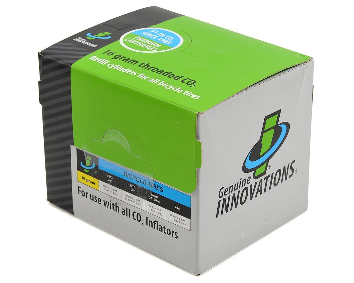 Genuine Innovations 16gram Threaded CO2 Cartridges: Box of 100