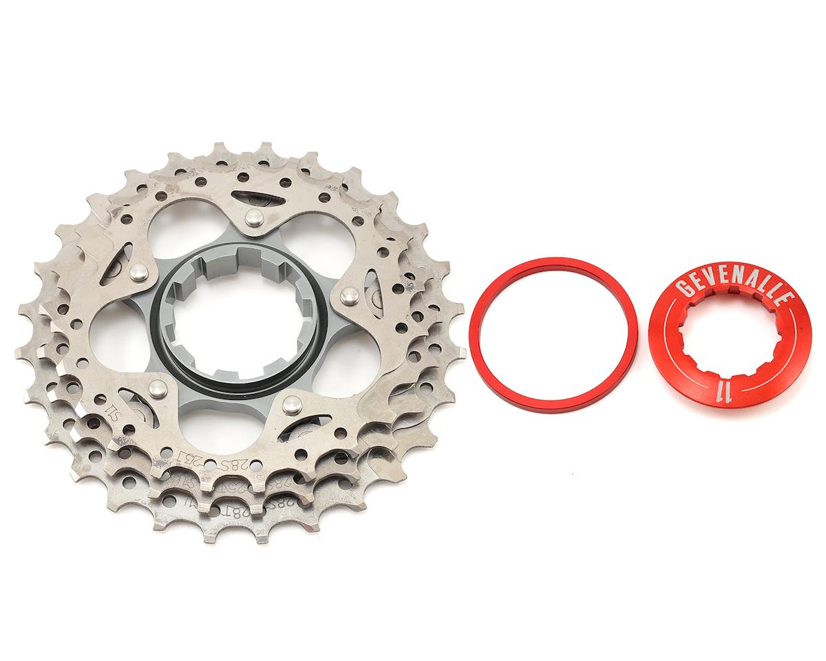 Gevenalle CX Houp with Titanium 3 Ring for 11 Speed Road Cassettes