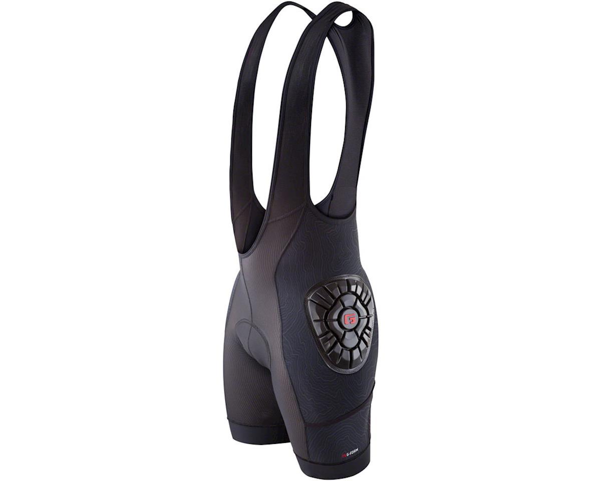 G-Form Elite Men's Liner Bib Short: Black/Topo, XL