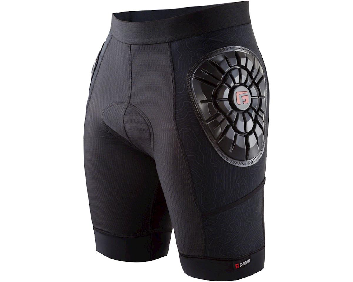 G-Form Elite-B Men's Liner Short: Black/Topo, XL