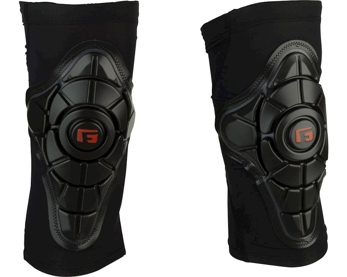 G-Form Pro-X Knee Pad: Black/Embossed G, 2XL