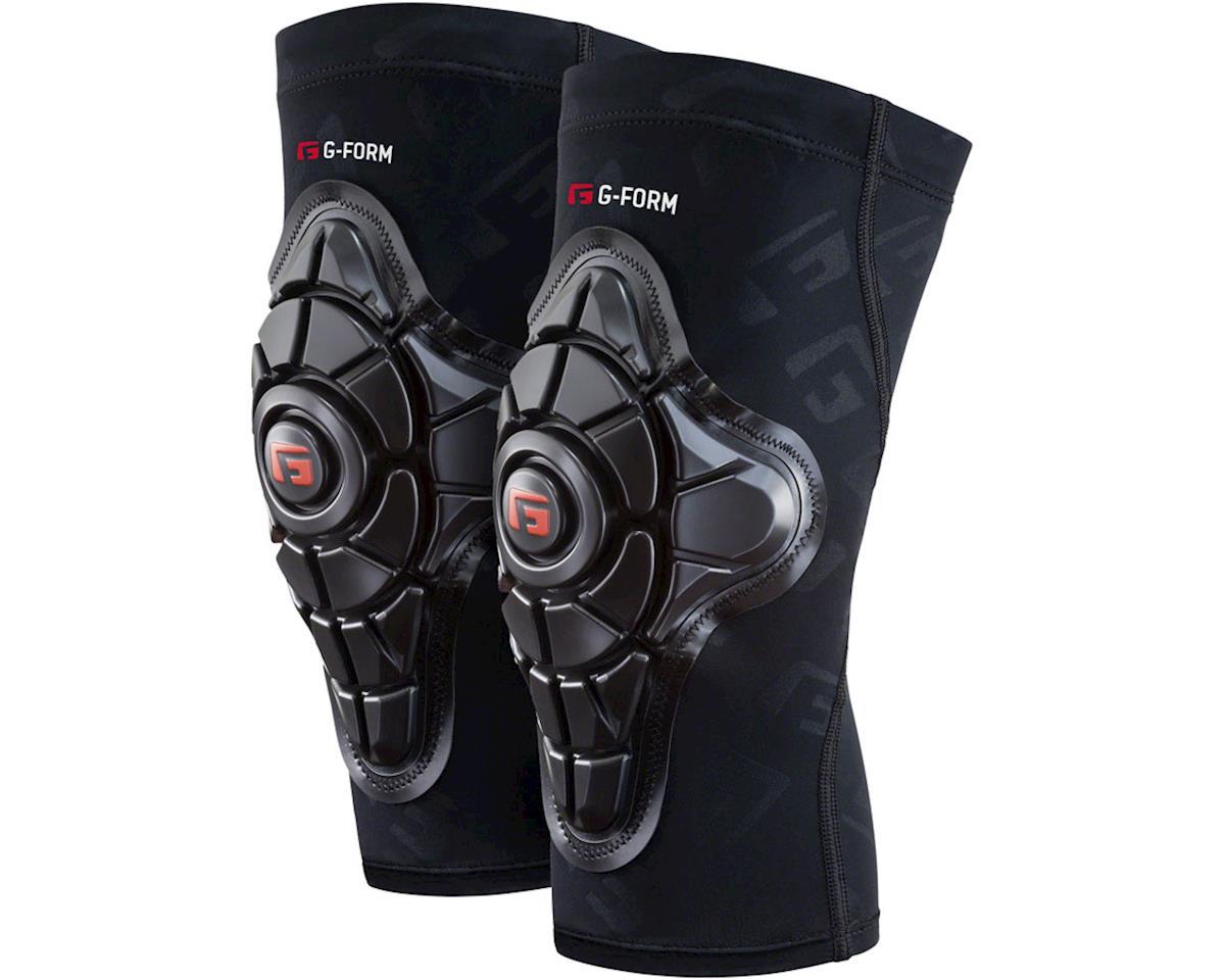G-Form Pro-X Knee Pad: Black/Embossed G, 2XL (2XL)