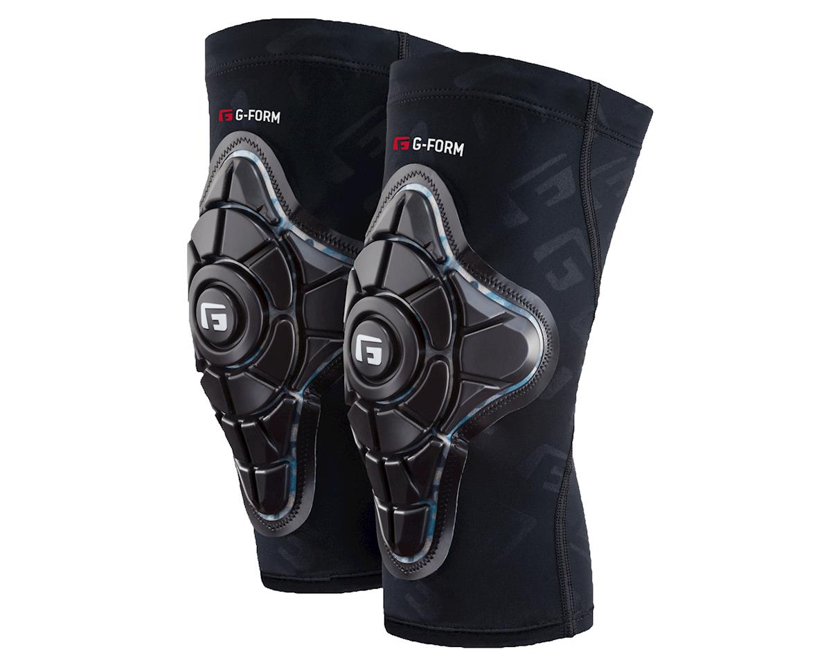 G-Form Pro-X Knee Pad (Black/Teal/BlkG) (L)