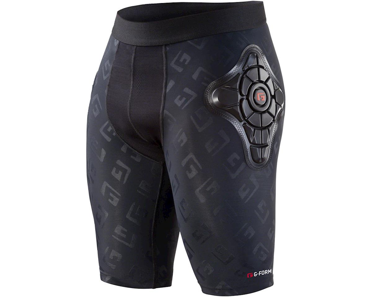 G-Form Pro-X Youth Short (Black/Embossed G) (Kids S)