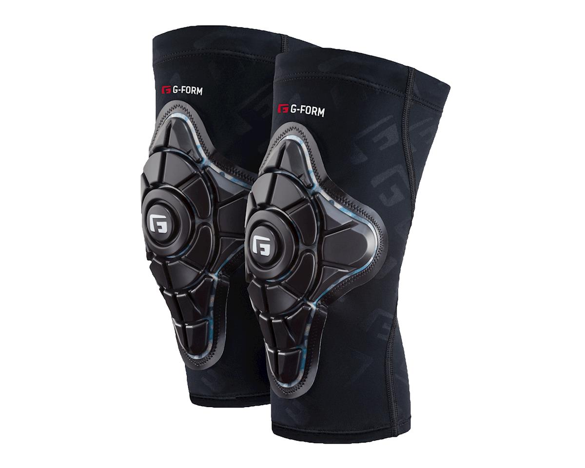 Pro-X Youth Knee Pad (Black/Teal/BlkG) (L/XL)