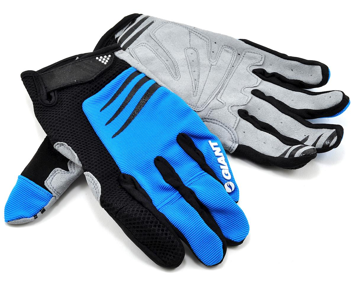 Giant Trail Bike Gloves (Blue) (XL)