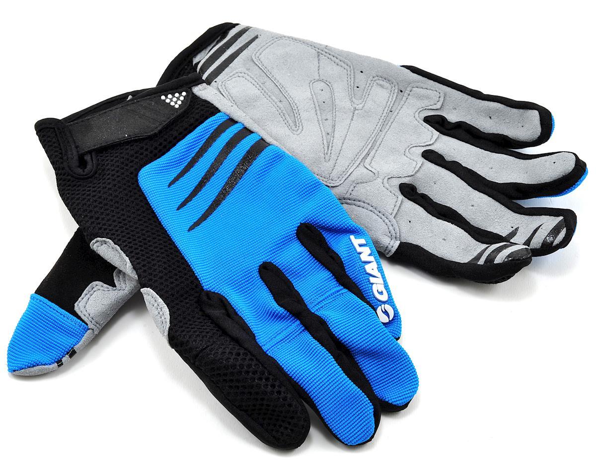 Giant Trail Bike Gloves (Blue) (2XL)