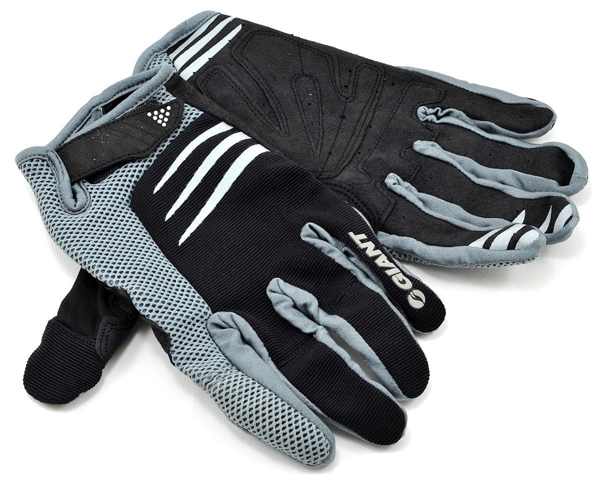Giant Trail Bike Gloves (Black) (XL)