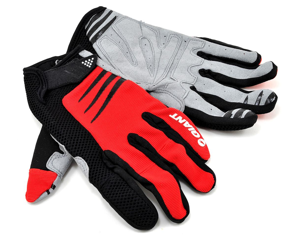 Giant Trail Bike Gloves (Red)