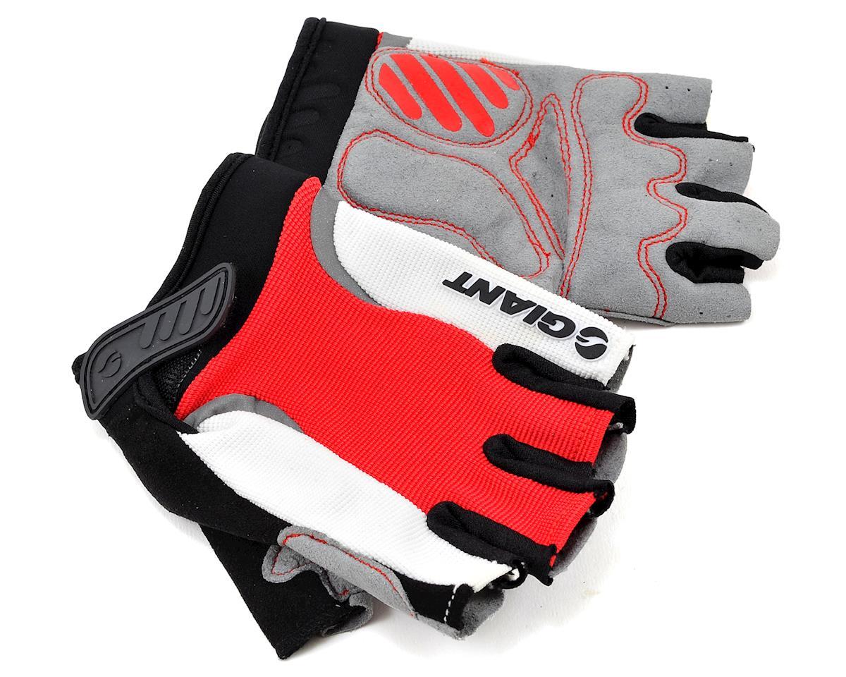 Giant Velocity Short Finger Bike Gloves (Red)