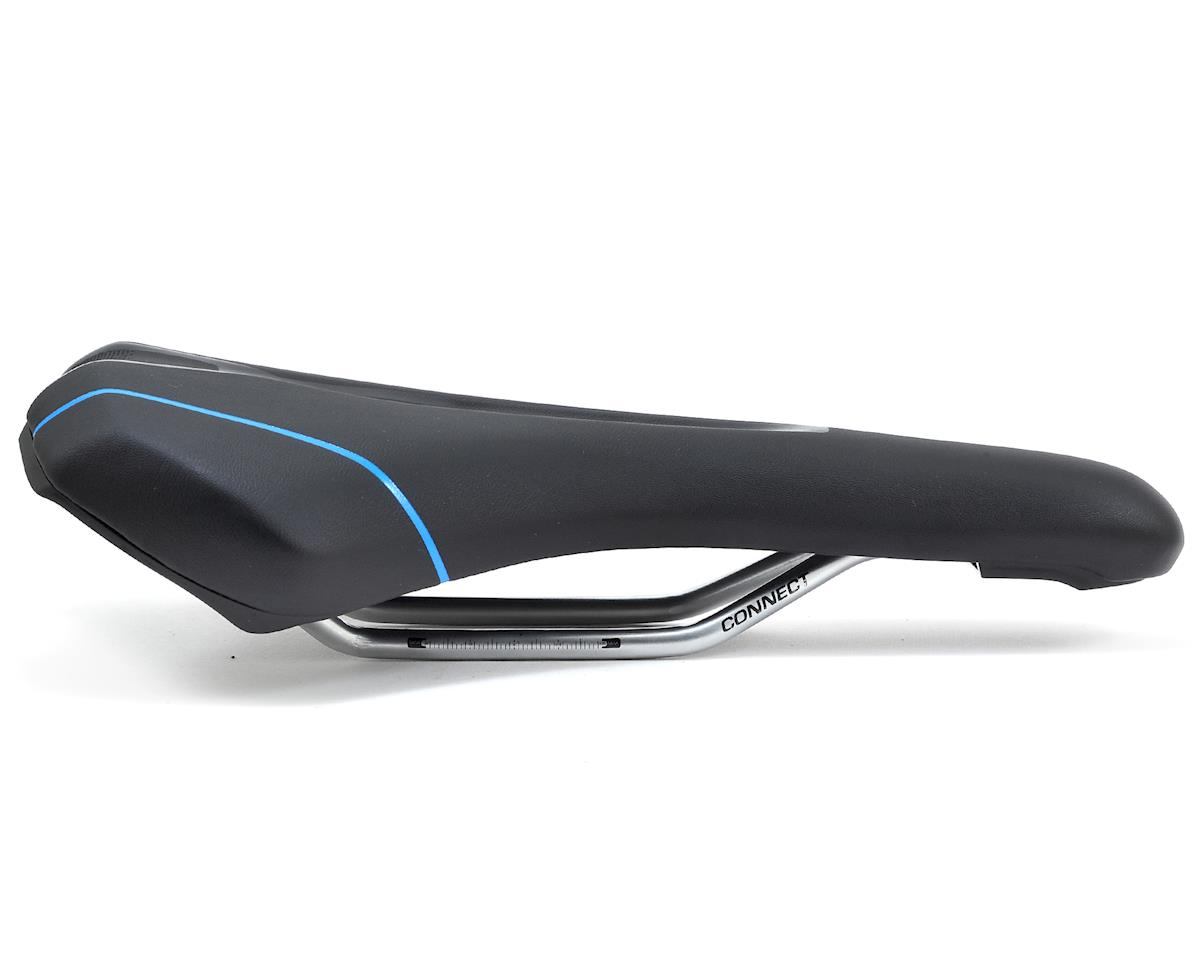 Giant Connect Upright Saddle (Black/Blue)