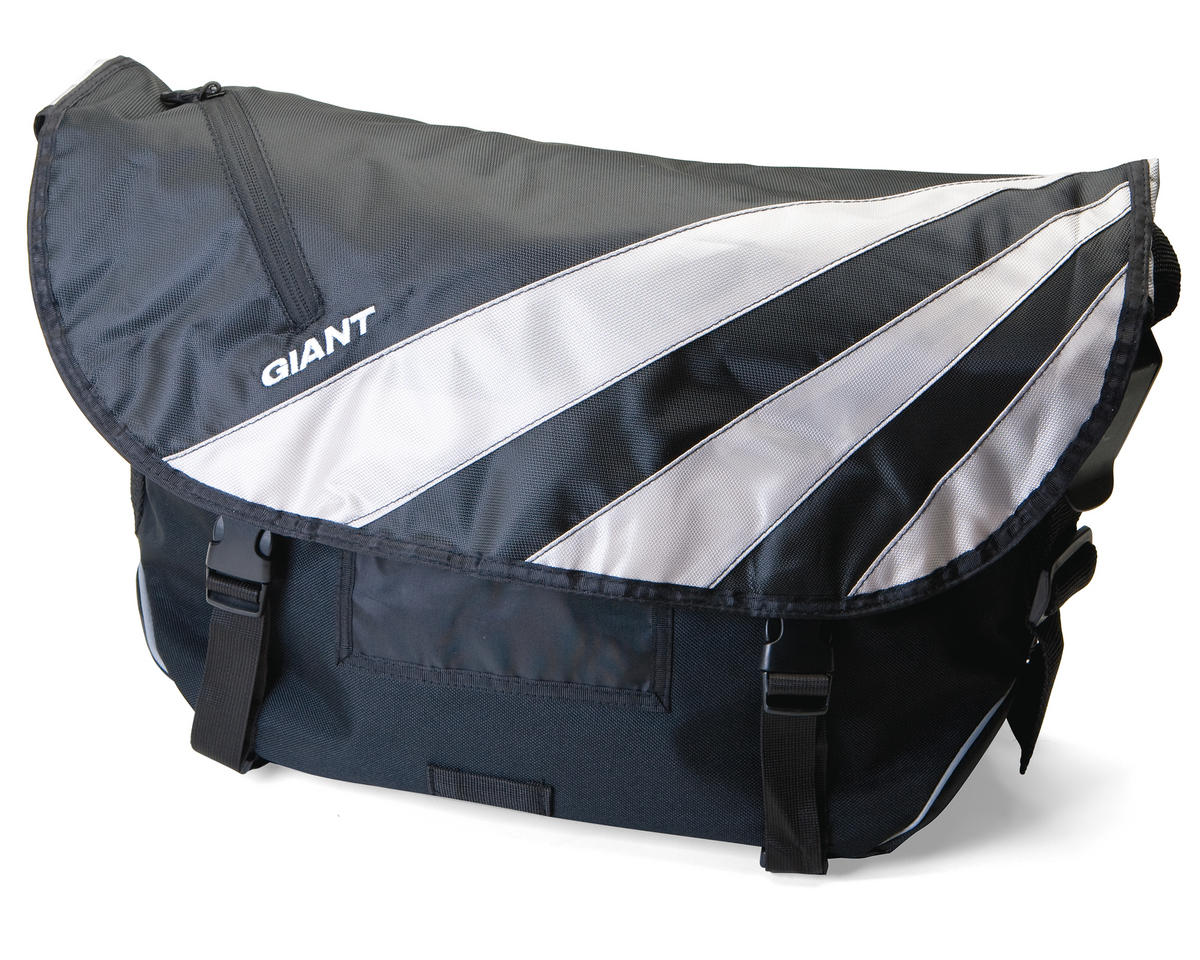 Giant Mission Bike Messenger Bag (Black/Grey)