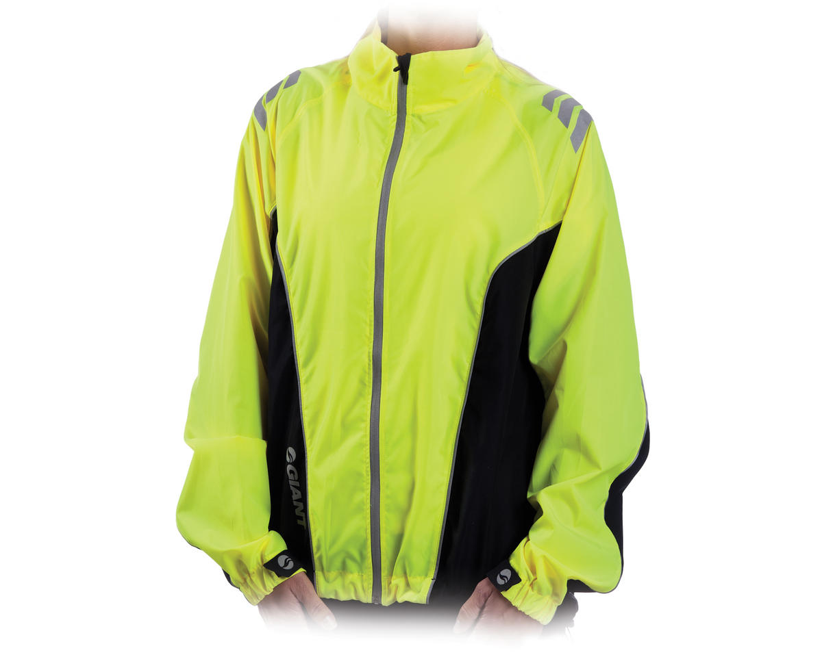 Giant Sport Wind Women's Bike Jacket (Yellow)