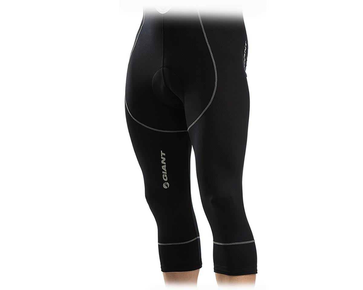Giant Performance Bib 3/4 Bike Shorts (Black)