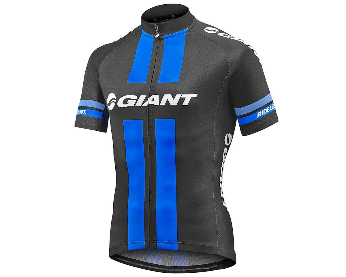 Giant Race Day Jersey (Black/Blue) (S)