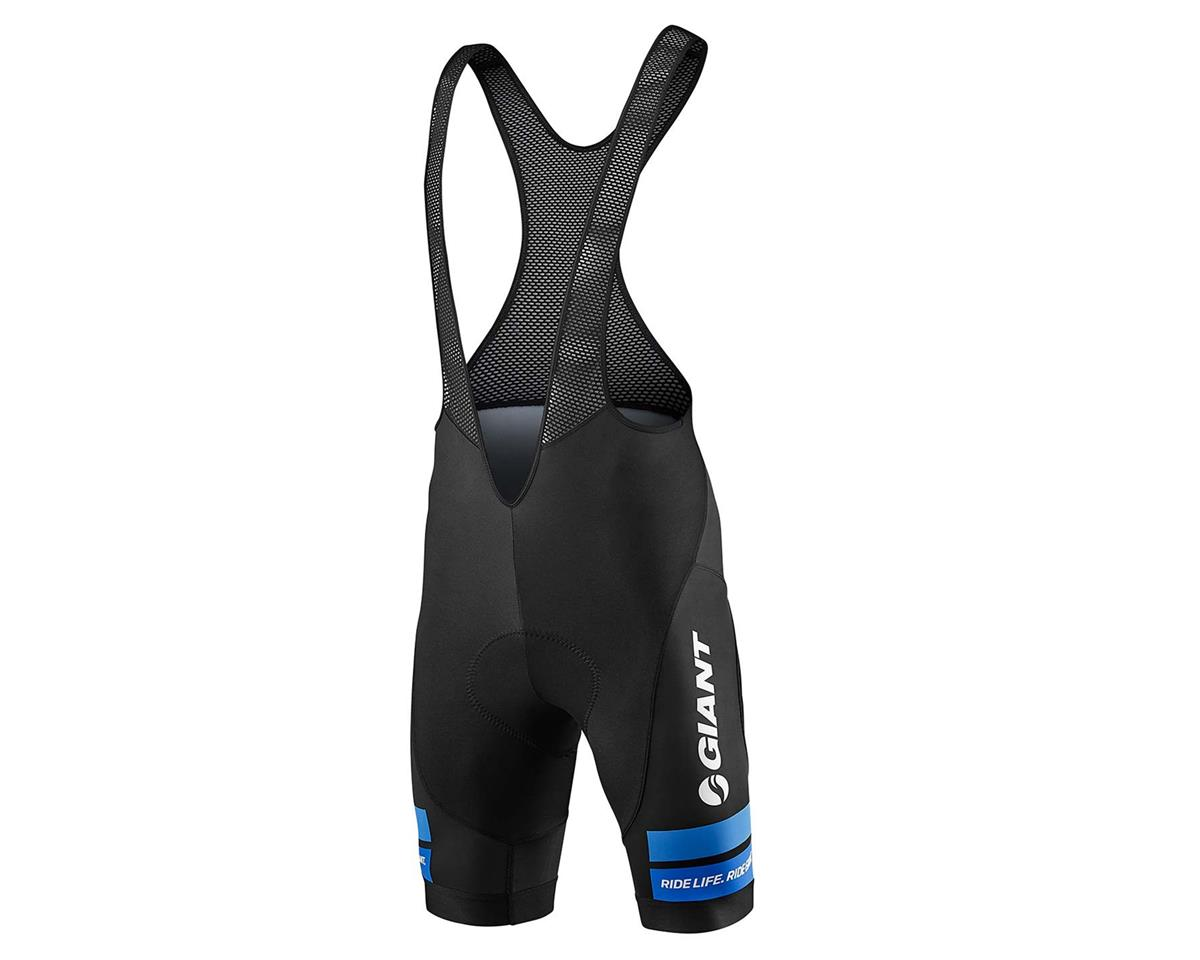 Giant Race Day Bib Shorts (Black/Blue) (L)