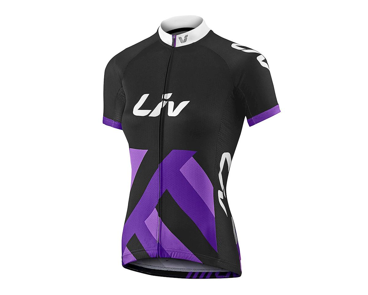 Liv/Giant Race Day Jersey (Black/Purple) (S)