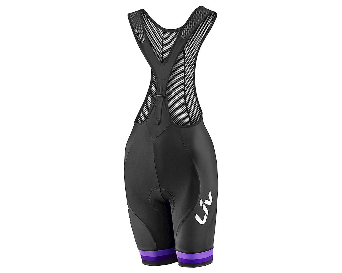 Liv/Giant Race Day Bib Short (Black/Purple) (M)