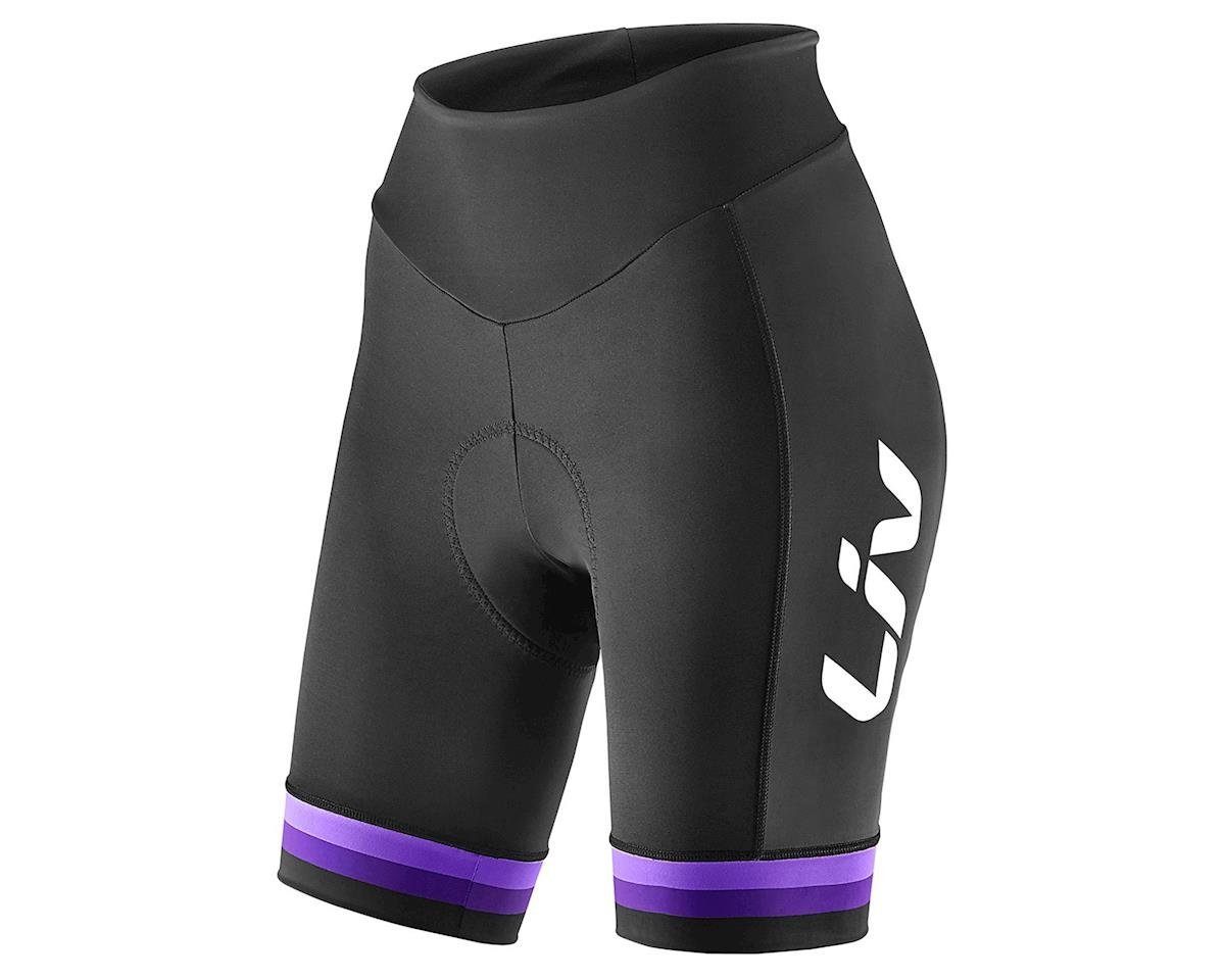 Liv/Giant Race Day Shorts (Black/Purple) (M)