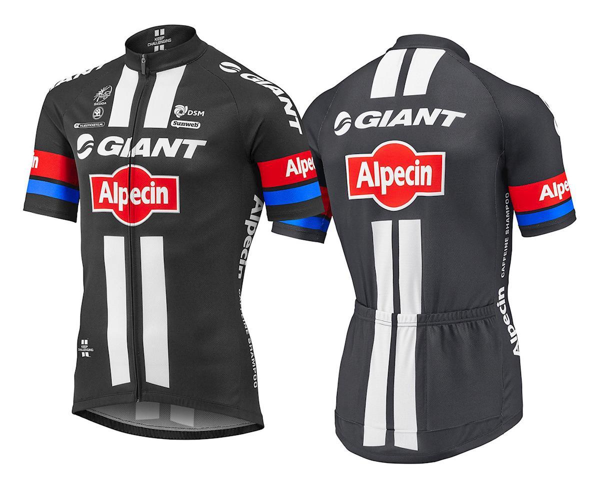 Giant 2016 Team Giant-Alpecin Replica Jersey (Black/White) (L)