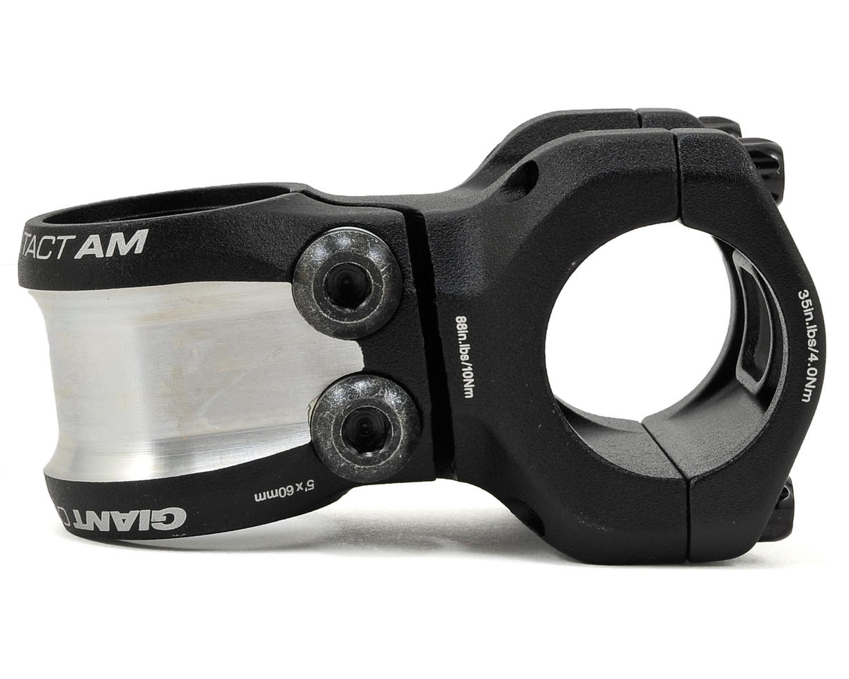 Giant Contact AM OD2 Stem (+/-5° Rise) (Black) (60mm)