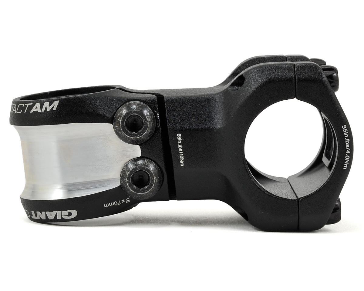 Giant Contact AM OD2 Stem (+/-5° Rise) (Black) (70mm)
