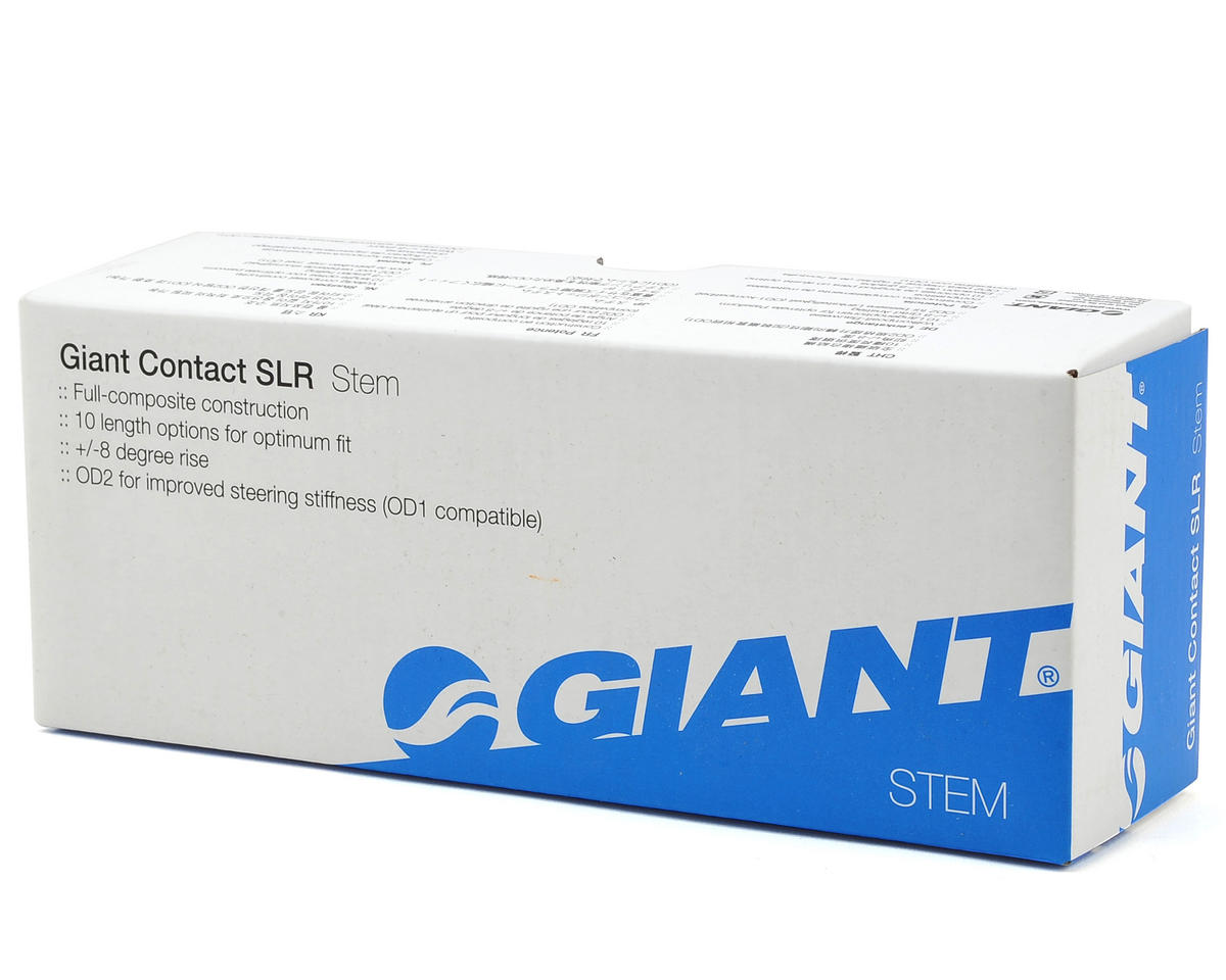 Giant Contact SLR OD2 Carbon Stem (+/-8° Rise) (White/Black) (120mm)