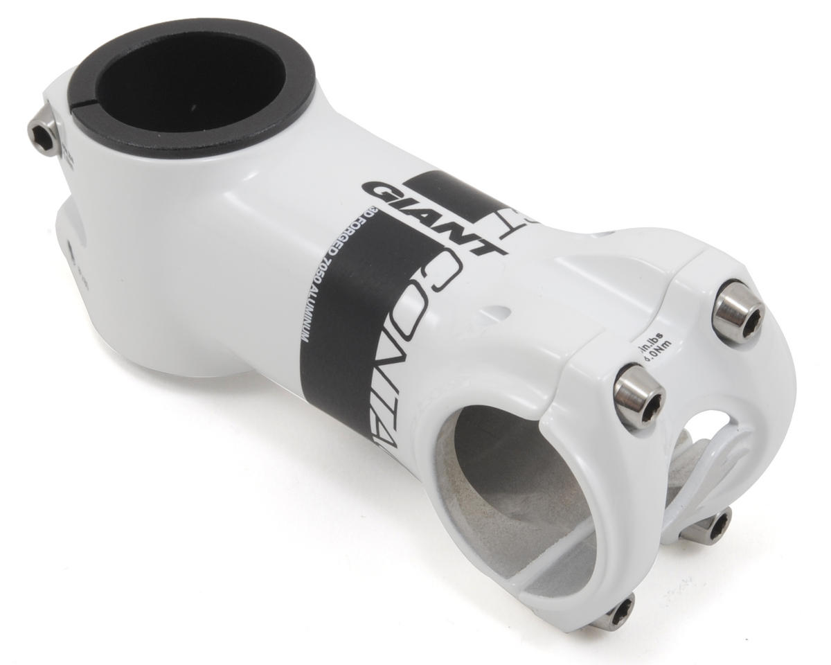 Giant Contact OD2 Stem (+/-8° Rise) (White/Black) (80mm)