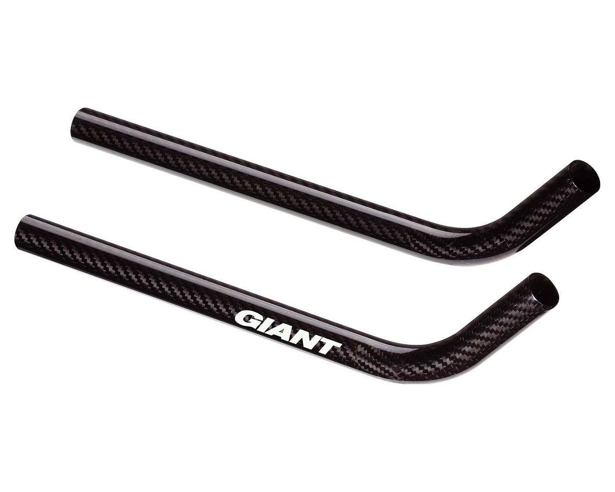 Giant Connect SL Carbon Aerobar Extensions (Ski Bend)