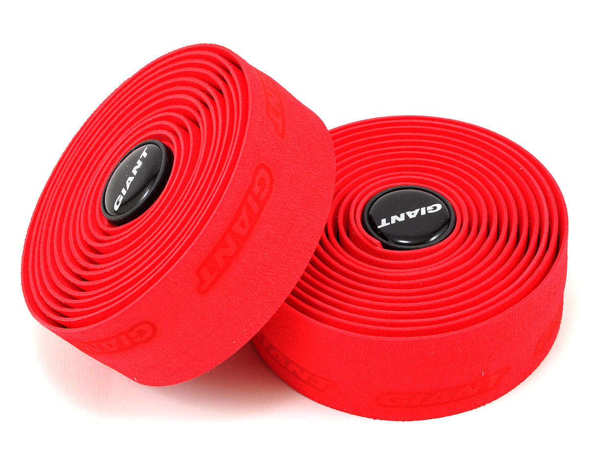 Giant Connect Gel Medium-Thick Handlebar Tape (Red)