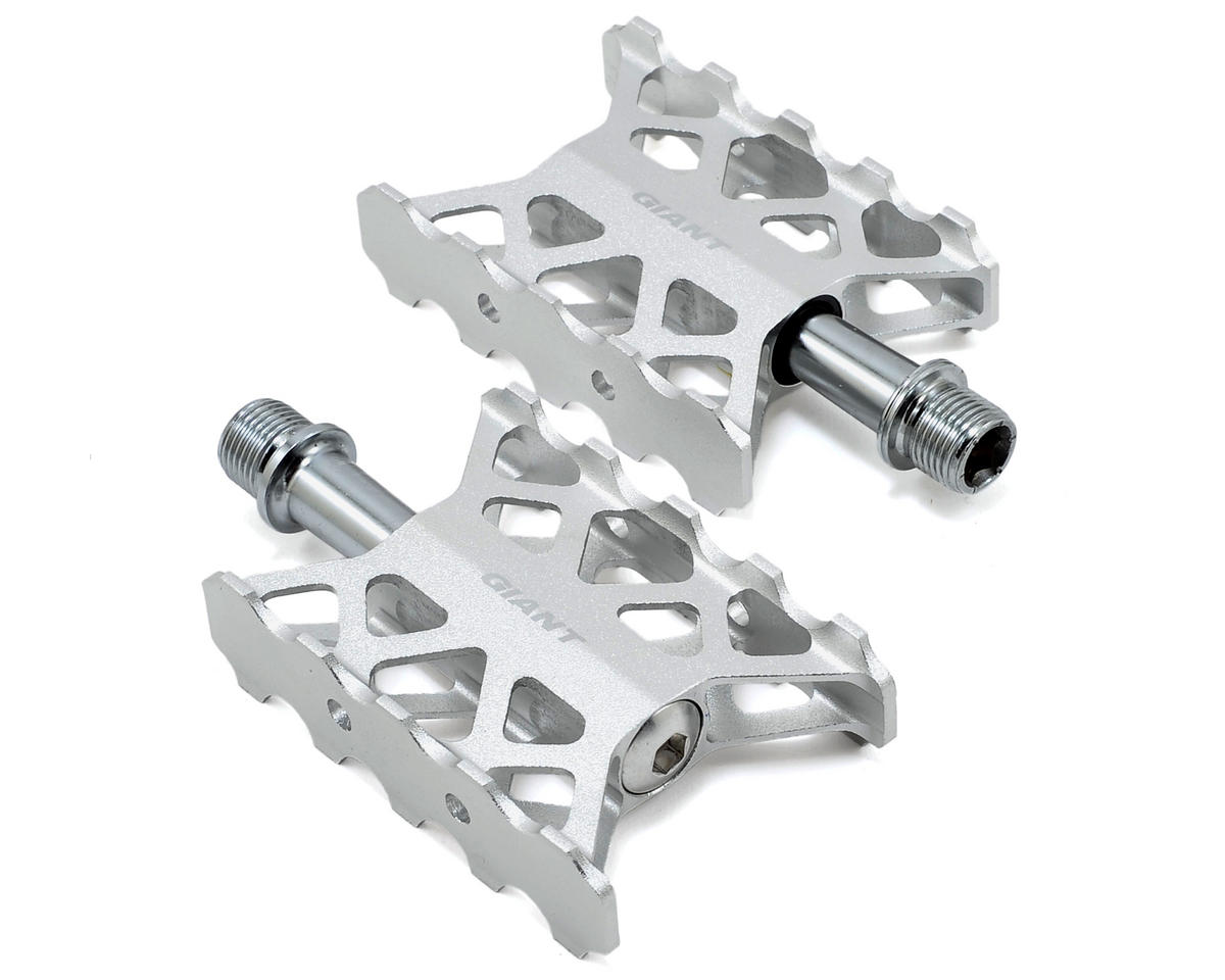 "Giant Ultra Light Pedals 9/16"" Axle (Silver)"