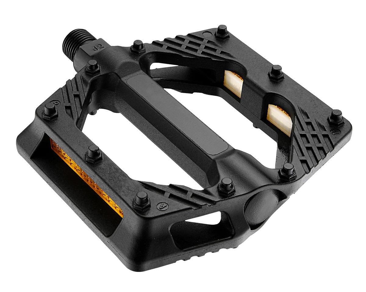 """Giant Plastic Platform Pedals (9/16"""" Axle) (Black)"""