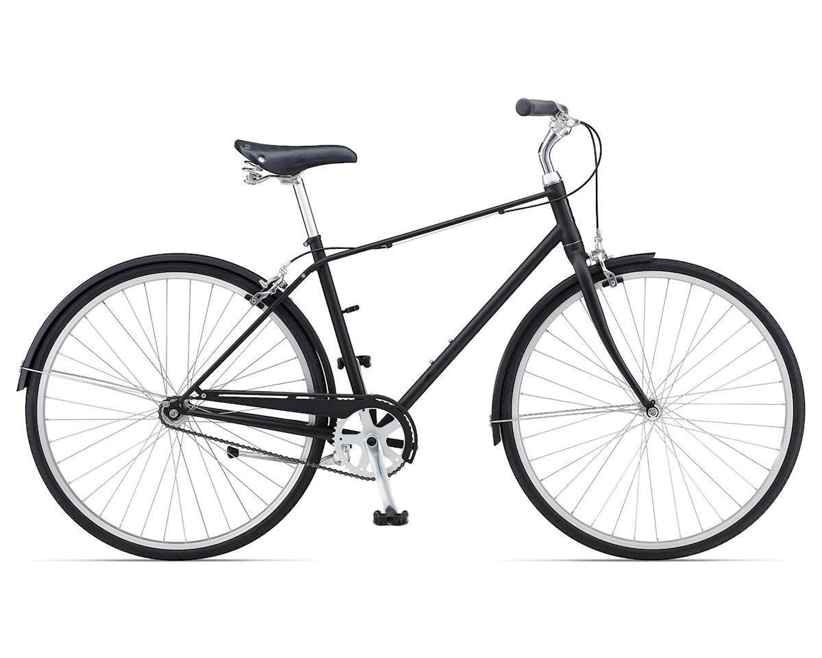 Giant Via 3 Urban Bike (2015) (1 Speed) (Satin Black/Gloss Black)