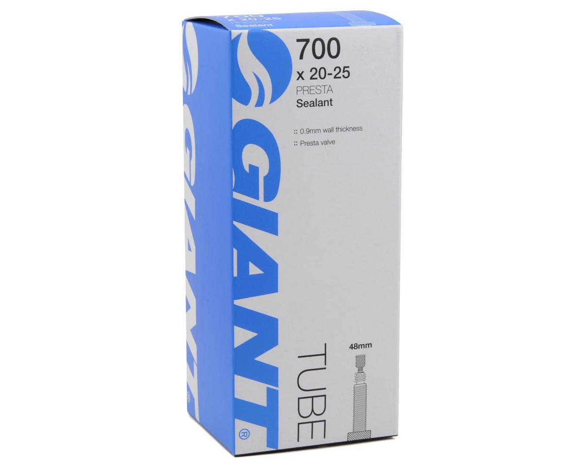 Giant 700c Tube w/Sealant (Presta) (700 x 20-25) (48mm)