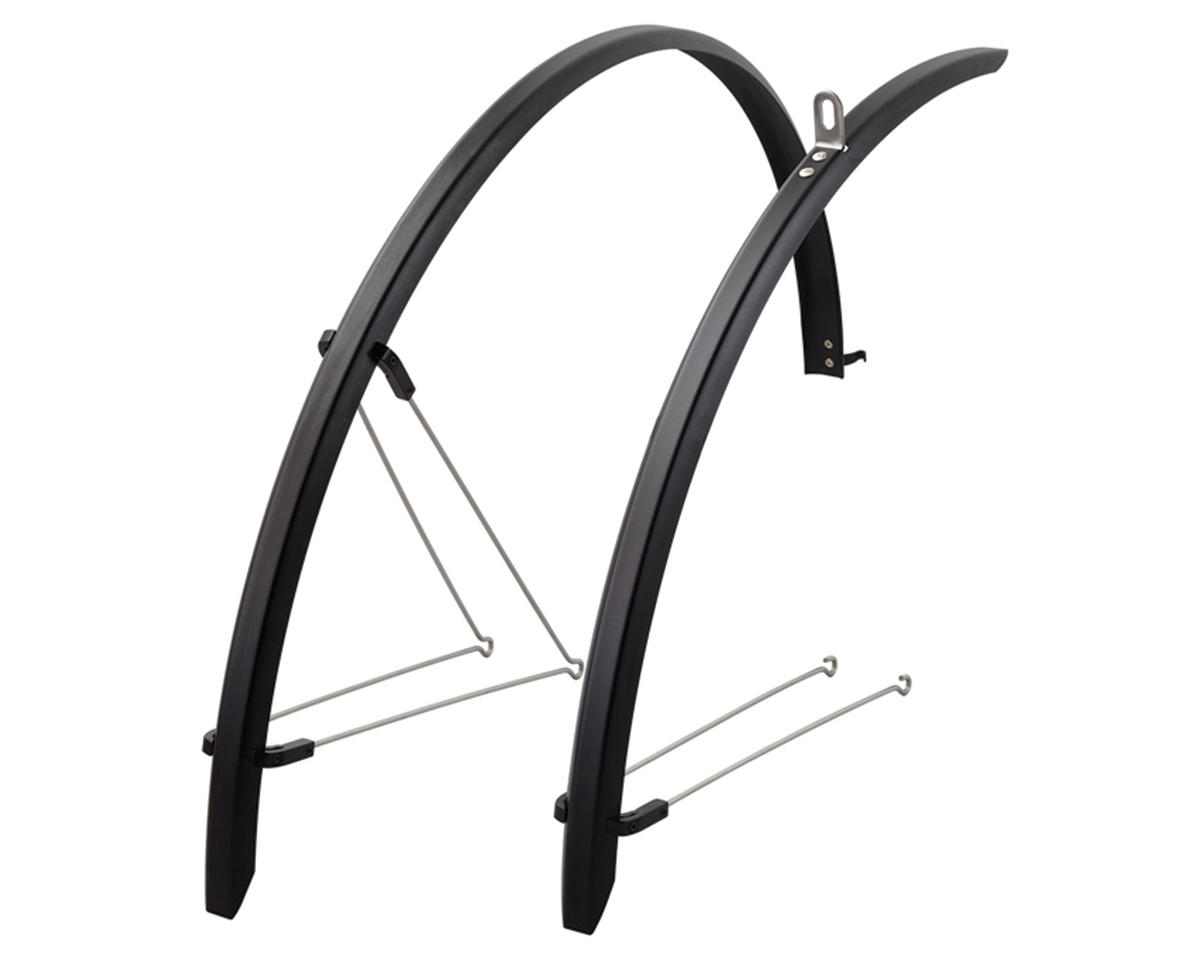 Giant Speedshield Alloy Race Bike Fender Set (700 x 20-25) (Black)