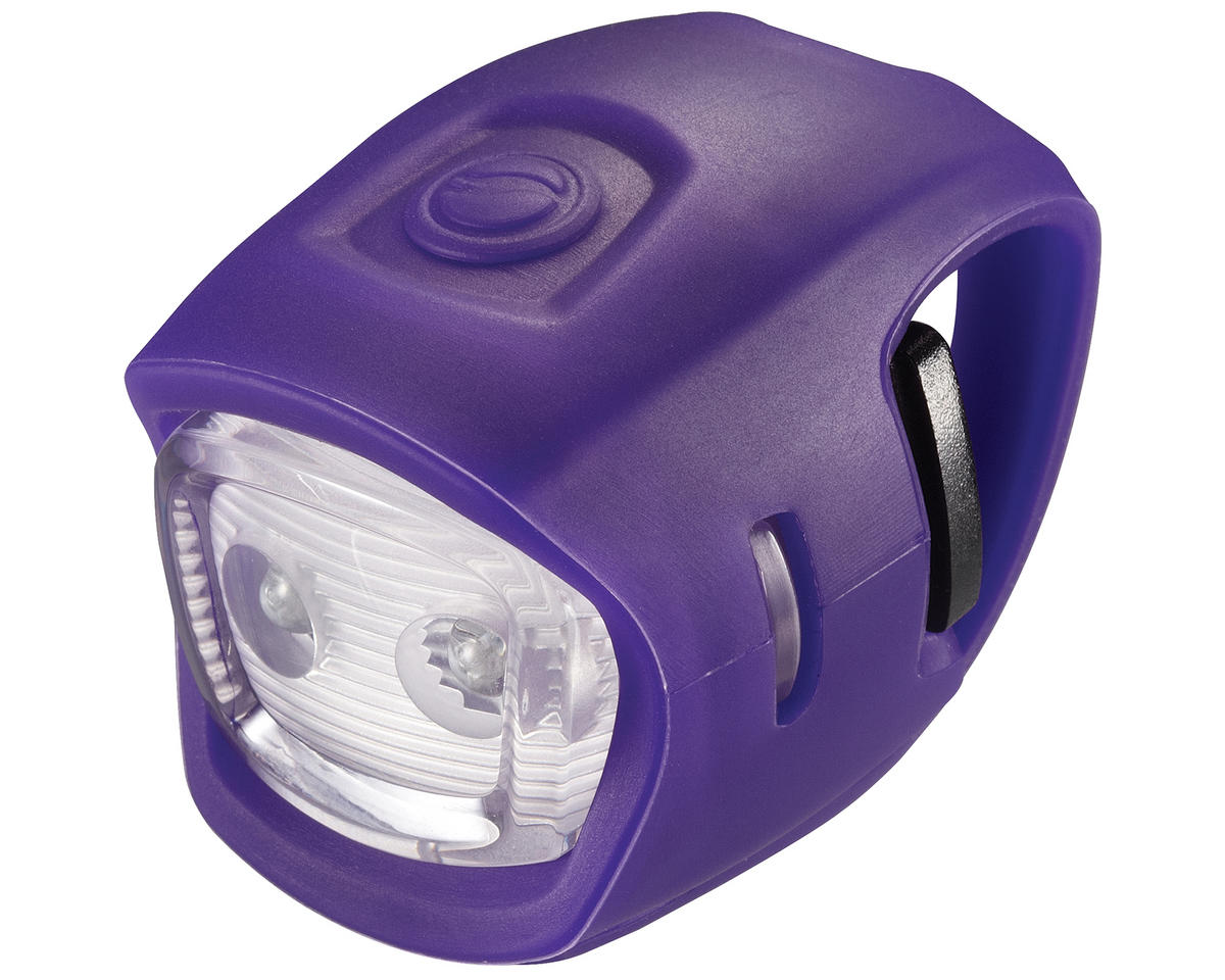 Giant Numen Mini HL 2-LED Bike Headlight (Purple/White)
