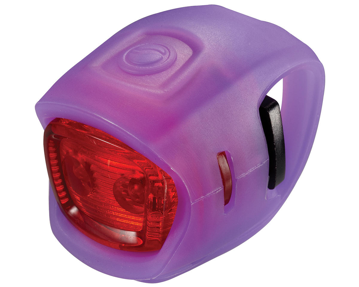 Giant Numen Mini TL 2-LED Bike Tail Light (Purple/Red)