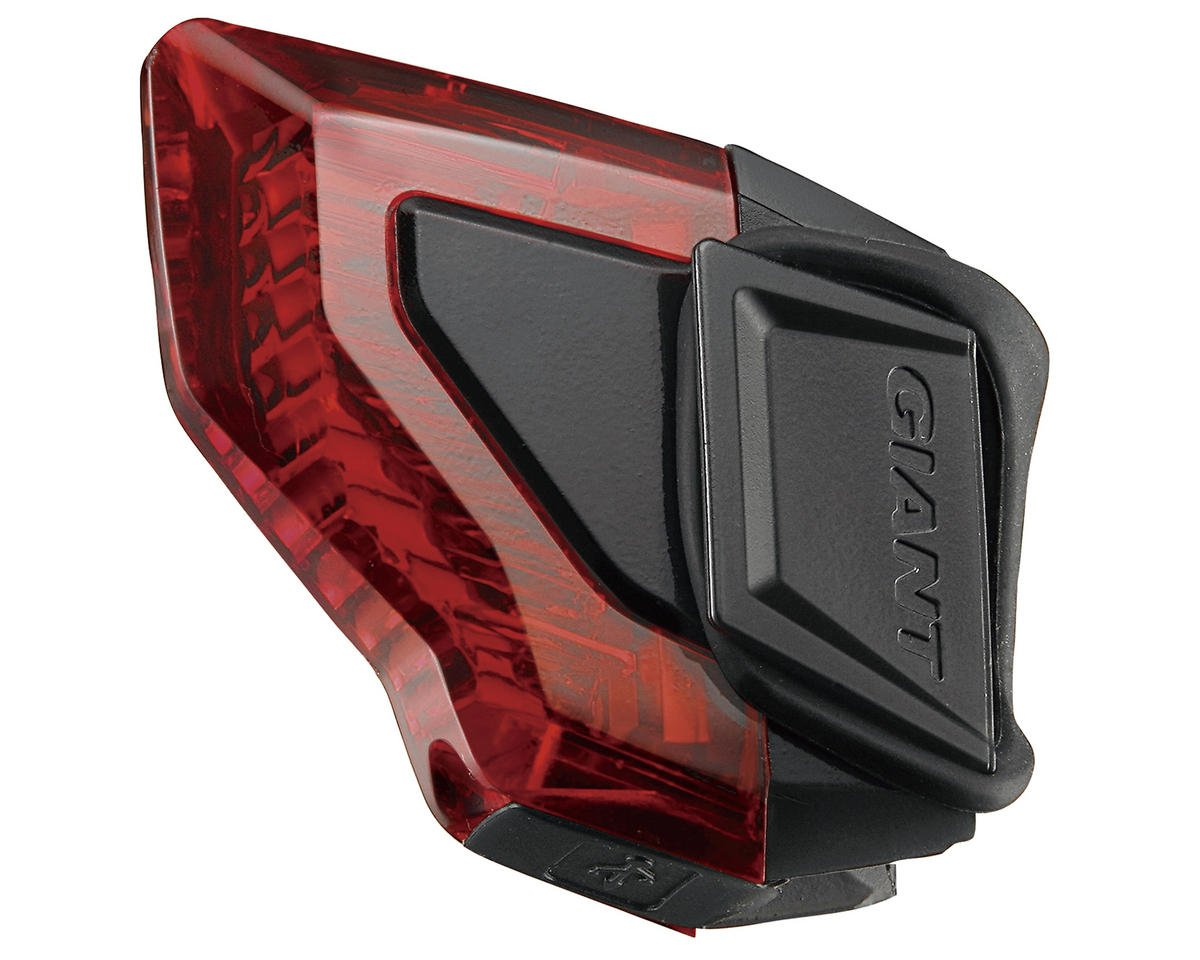 Giant Numen Plus Aero TL 3-LED USB Bike Tail Light (Red/Black)