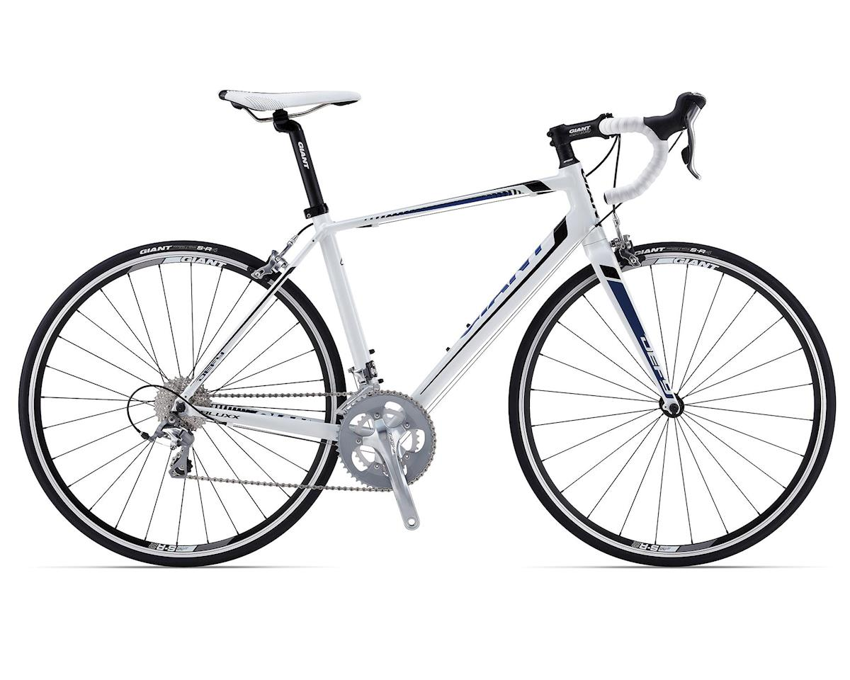 Giant Defy 2 Compact Road Bike (2015) (White/Black/Blue) 2014