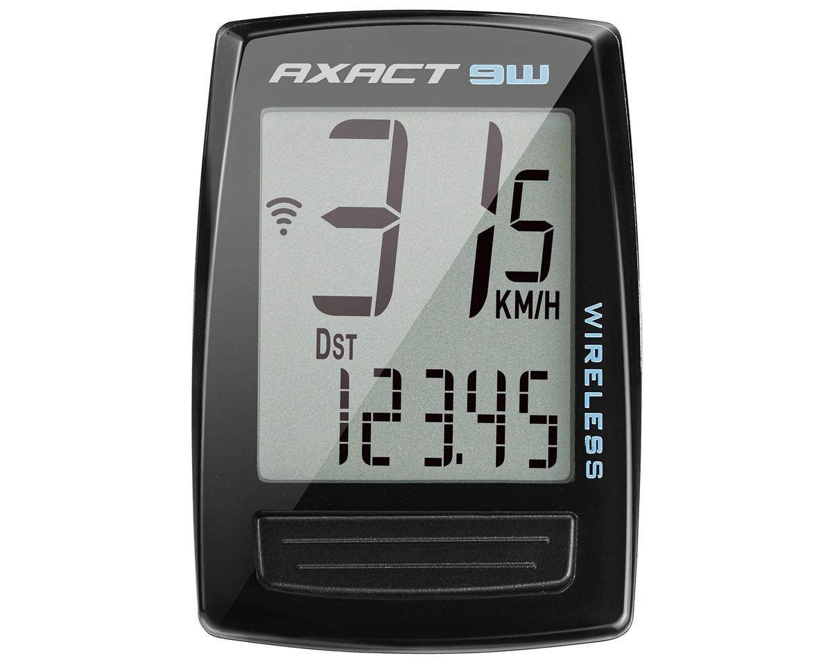 Giant Axact 9W Wireless Bike Computer (Black)
