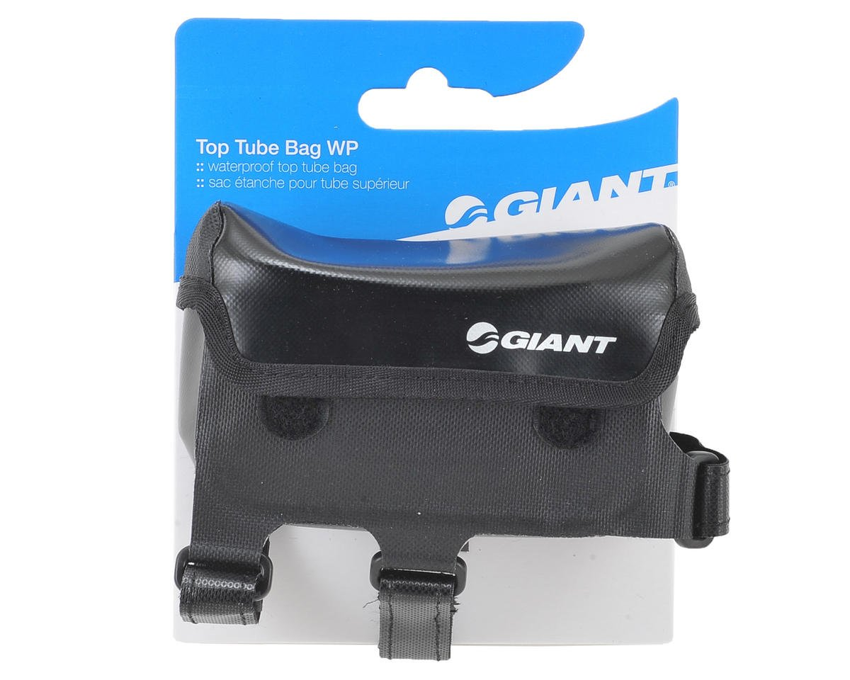 Giant Waterproof Top Tube Bag (Black) (S)