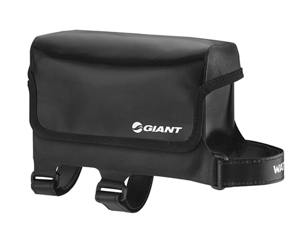Giant Waterproof Top Tube Bag (Black) (L)