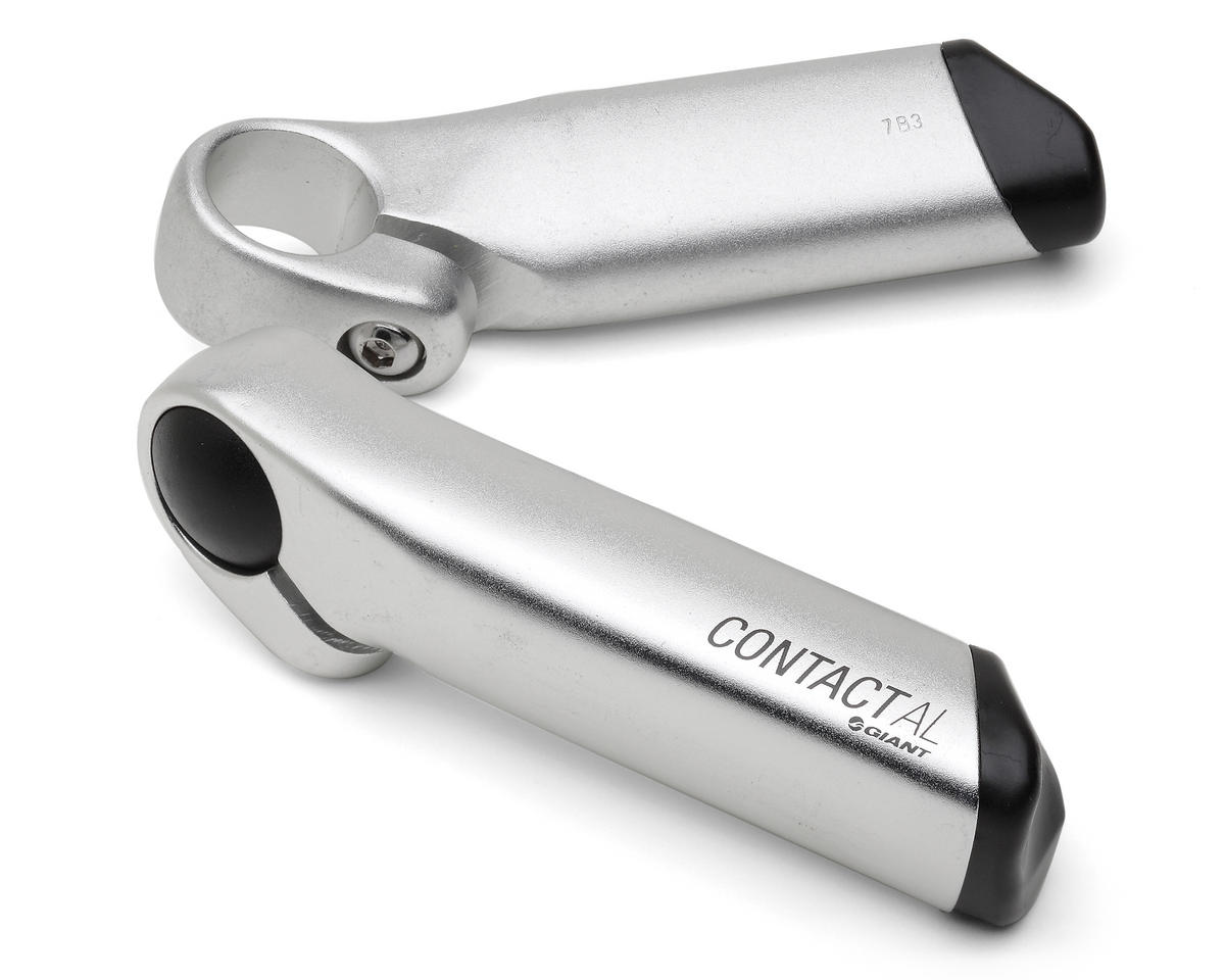 Giant Aluminum Contact AL Bar Ends (Silver)