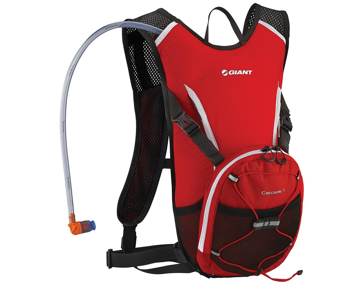 Giant Cascade 1 Hydration Pack (Red) (70oz/2L)