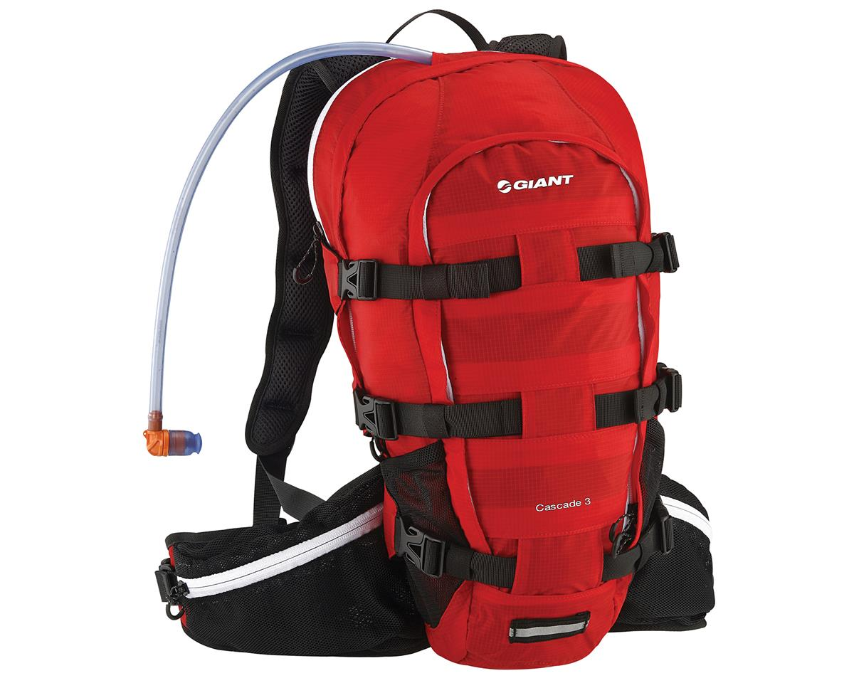 Giant Cascade 3 Hydration Pack (100oz/3L) (Red)
