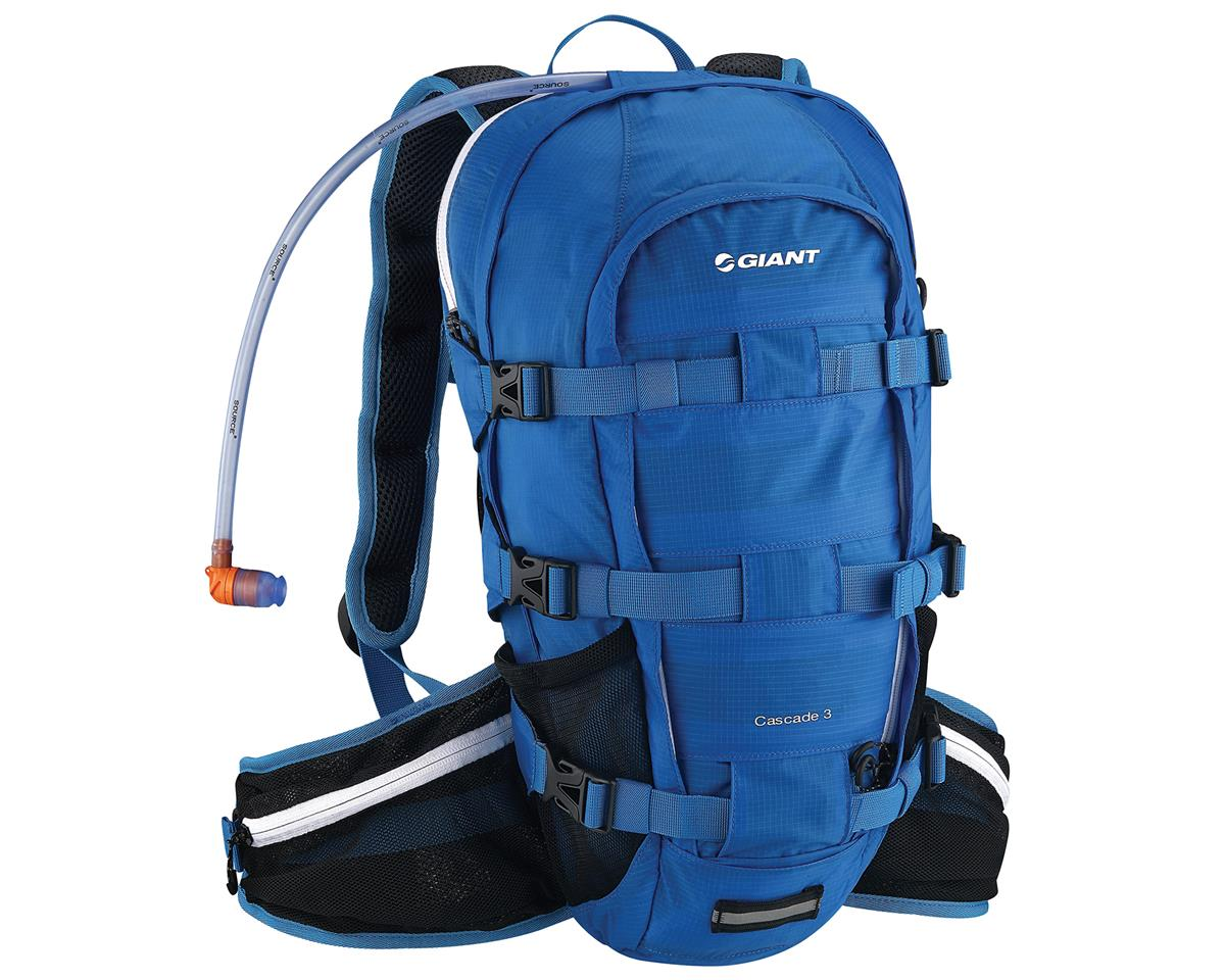 Giant Cascade 3 Hydration Pack (100oz/3L) (Blue)