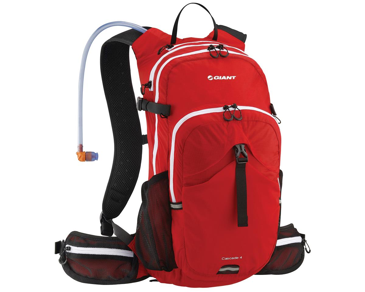 Giant Cascade 4 Hydration Pack (100oz/3L) (Red)