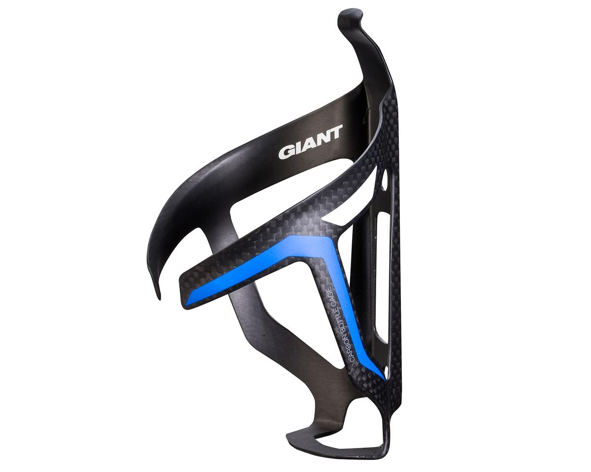 Giant AirWay Water Bottle Cage (Matte Black/Blue)